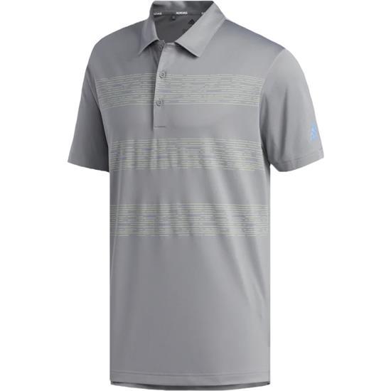 Adidas Men's 3-Stripe Print Polo