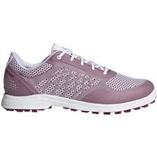 Adidas White-Power Berry-White Alphaflex Sport Golf Shoes for Women