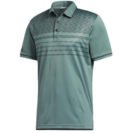 Adidas Men's Core Novelty Print Polo