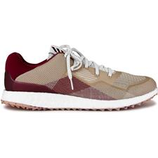 Adidas Chalk White-Collegiate Burgundy-Savannah Crossknit DPR Golf Shoes