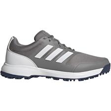 Adidas Grey Three-White Tech Response Spikeless Golf Shoes