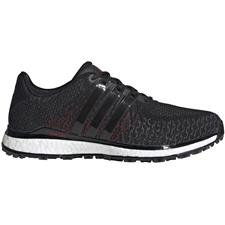 Adidas Core Black-Grey Five-Scarlet Tour360 XT Spikeless Textile Golf Shoes