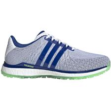 Adidas White-Royal Blue-Glory Mint Tour360 XT Spikeless Textile Golf Shoes