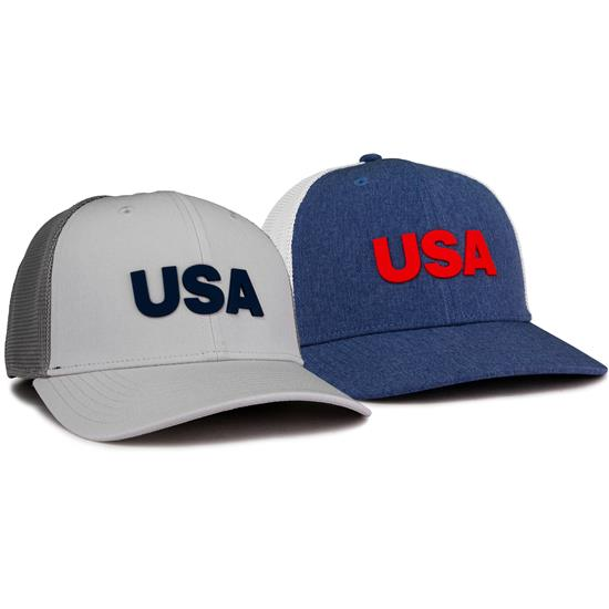 Adidas Men's USA Golf Trucker Hat