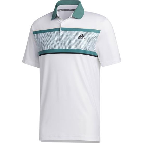 Adidas Men's Ultimate 365 Chest Print Polo