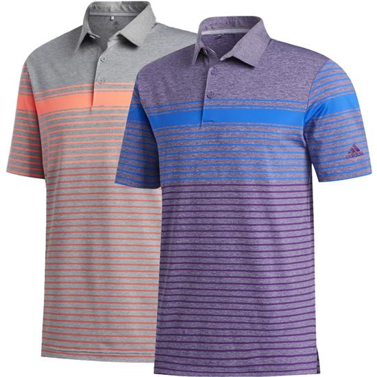 Adidas Men's Ultimate365 Engineered Heathered Polo Shirt