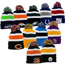 Bridgestone Men's NFL Cuff Knit Beanie