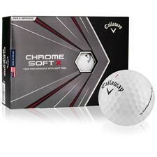 Callaway Golf Chrome Soft X Custom Express Logo Golf Balls