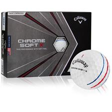 Callaway Golf Chrome Soft X Triple Track Personalized Golf Balls