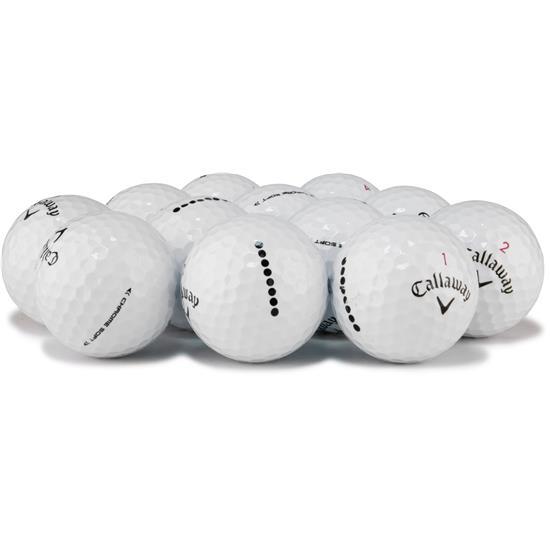 Callaway Golf Chrome Soft Logo Overrun Golf Balls