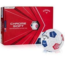 Callaway Golf Chrome Soft USA TruVis Golf Balls