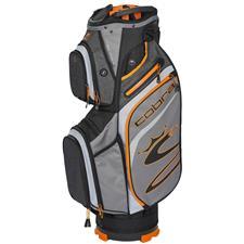 Cobra Ultralight Personalized Cart Bag - Quiet Shade-Vibrant Orange