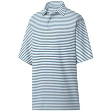 FootJoy Men's Jersey Jacquard Stripe Polo