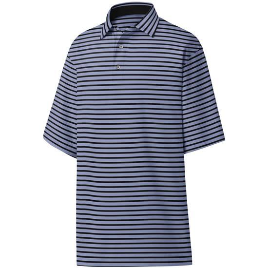 FootJoy Men's Lisle 2 Color Stripe Self Collar Polo