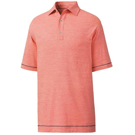 FootJoy Men's Previous Season Lisle Space Dye Microstripe Polo