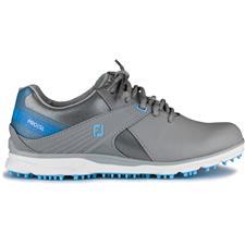 FootJoy Grey-Light Blue Pro/SL Golf Shoes for Women