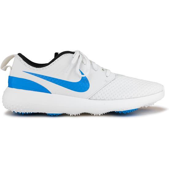 Nike Men S Roshe G Golf Shoes 2020 Model Summit White University Blue Anthracite 12 1 2 Medium Golfballs Com