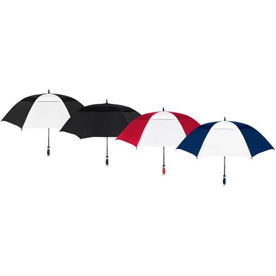 OnCourse 62 Double Canopy Vented Typhoon Tamer Umbrella