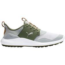 Puma High Rise-Puma Silver-Deep Lichen Green Ignite NXT Lace Golf Shoes