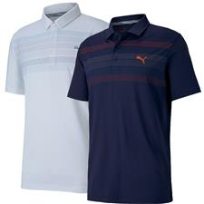 Puma Men's Road Map Golf Polo
