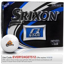 Srixon Q-Star Custom Logo Golf Balls