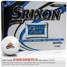 Srixon Q-Star Tour 3 Custom Logo Golf Balls