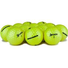 Srixon Q-Star Yellow Logo Overrun Golf Balls