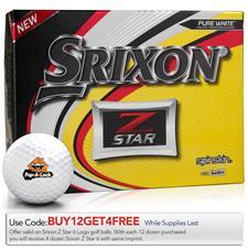 Srixon Z Star Custom Express Logo Golf Balls