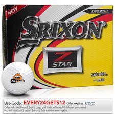 Srixon Z Star Custom Logo Golf Balls
