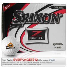 Srixon Z Star XV Custom Logo Golf Balls