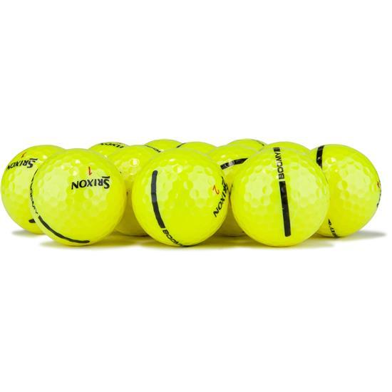 Srixon Z Star XV Yellow Logo Overrun Golf Balls