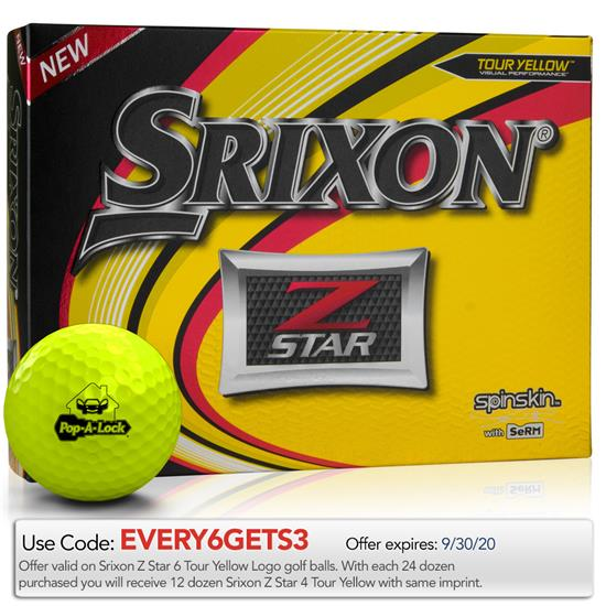 Srixon Z Star Yellow Golf Balls