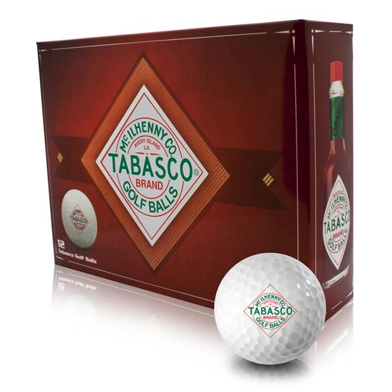 TABASCO Brand Golf Balls