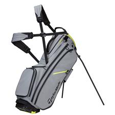 Taylor Made FlexTech Crossover Personalized Stand Bag - Silver-Gray-Black