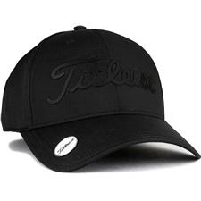Titleist Men's Performance Ball Marker Golf Hat - Black-Black