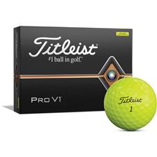 Titleist Prior Generation Pro V1 Yellow Personalized Golf Balls