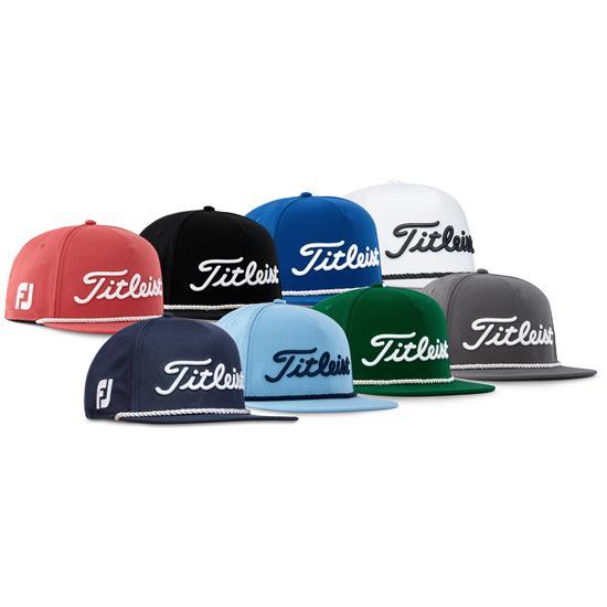 Titleist Men's Tour Rope Flat Bill Golf Hat