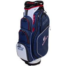 Tour Edge Exotics EXS Xtreme Cart Bag - Navy-Red-White