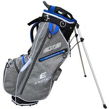 Tour Edge Exotics EXS Xtreme Stand Bag - Heather-Blue-White