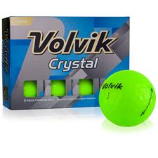 Volvik Crystal Green Golf Balls