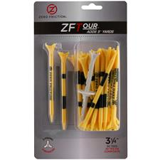 Zero Friction ZF Tour 3-Prong 3 1/4 Inch Tees - 30 Pack