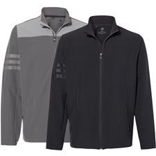 Adidas Custom Logo 3-Stripes Jacket