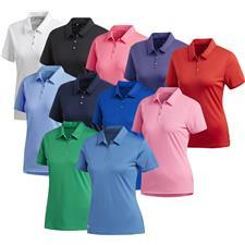 Adidas Custom Logo Performance Short Sleeve Polo for Women