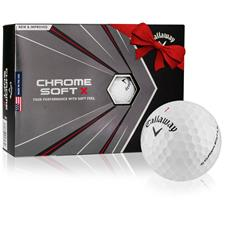 Callaway Golf 2020 Chrome Soft X Custom Logo Golf Balls