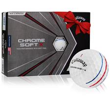 Callaway Golf 2020 Chrome Soft X Triple Track Personalized Golf Balls