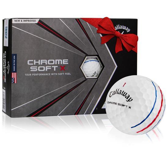 Callaway Golf 2020 Chrome Soft X Triple Track Golf Balls