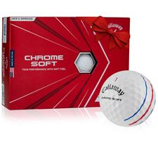 Callaway Golf Chrome Soft Triple Track Monogram Golf Balls