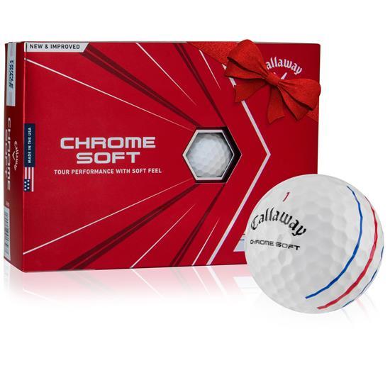Callaway Golf Chrome 2020 Soft Triple Track Golf Balls