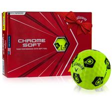 Callaway Golf Chrome Soft Jack Nicklaus TruVis Golf Balls