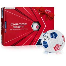 Callaway Golf Chrome Soft USA TruVis Golf Balls